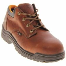 Mens Timberland Pro TiTAN Oxford Safety Toe Brown