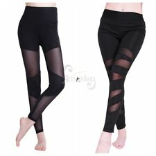 Sexy Women's Gyms Yoga Running Workout Stretchy Leggings Sissy Pants Trousers