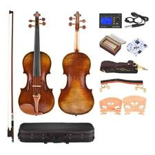 Handmade 4/4 Full Size Violin+Case Care Kit Antonio Stradivari 1716 Style R3C1