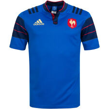 France ADIDAS RUGBY HOME JERSEY FFR Jersey s88860 FRANCE MAILLOT M-XXL NEW