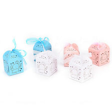 10X Elephant Laser Hollow Carriage Favors Box Gifts Candy Boxes Party Supplies!