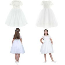 Communion Party Prom Princess Pageant Bridesmaid Gown Wedding Flower Girl Dress
