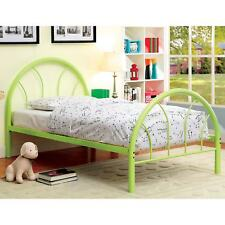 Furniture of America Linden Double Arch Metal Twin Bed