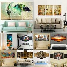 Large Modern Abstract Oil Painting Art Decor Wall Hanging On Canvas Unframed