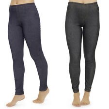 Tom Franks Ladies Jeggings Cotton/Elastane Stretch Denim Skinny Jean Leggings