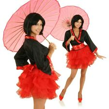 Womens Japanese Anime Geisha Cosplay Fancy Dress Costume