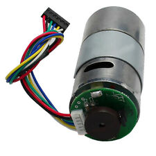 37GB545 DC12V Gear Motor With Encoder Electric Speed Reduce Motor 8-1000rpm