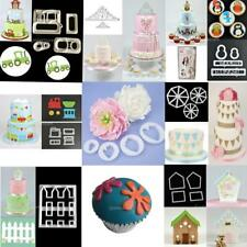 Various Fondant Cake Decorating Mold Plunger Cookie Cutter Kitchen Tool