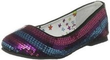 IRON FIST KIDS (UK 4/5/6/7) TWINKLE TOES SEQUIN FLAT SHOES PUMPS