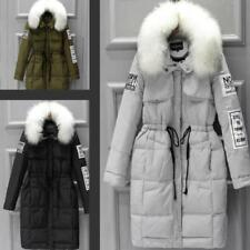 New style  Women's 100% Real Fur Down jacket  Parka Outwear Coat Winter 3 Colors
