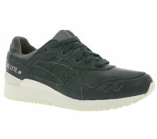 Asics Gel-Lyte III Men's Shoes Real Leather Sneaker Trainers Grey h7m4l 9595