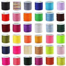 0.8mm 100M Nylon Chinese Knot Beading Cord Macrame Braided String Thread Wire