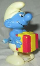 Vintage Smurf 1982 Galoob Made in Hong Kong Wind Up Toy