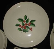 VINTAGE HARMONY HOUSE CHRISTMAS HOLLY 33 PIECE DISH SET