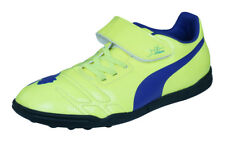Puma evoPOWER 4 TT Jr Boys Astro Turf Soccer Shoes / Boots - Yellow