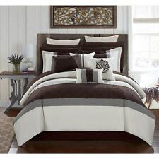 Chic Home 16-Piece Keira King Bed In a Bag Comforter Set Cream