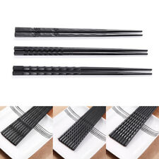New 1 Pair Japanese Chopsticks Non-Slip Sushi Chop Sticks Set Chinese Gift
