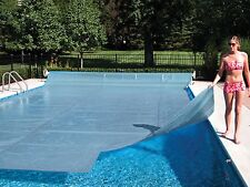 Space Age Swimming Pool Solar Heater Blanket Cover w/ Grommets -12 Mil