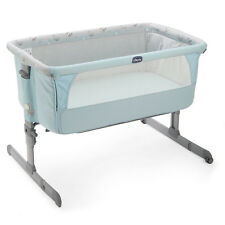 ORIGINAL Chicco Side Sleeping Crib Next2Me Baby Crib Next 2 Me Co-Sleep Sky