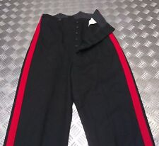 Genuine British Army No1 A/O Ranks Dress Trouser Single Red Stripes - All Sizes
