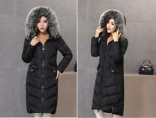 vogue Women's 100% Real Fur Down jacket Lady Parka Coat Winter Jacket 3 Colors