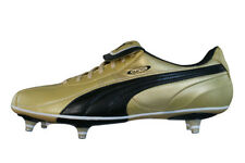 Puma King XL SG Mens Soft Ground Leather Soccer Cleats / Football Shoes - Gold