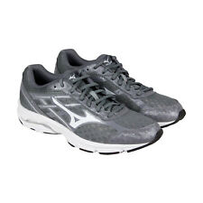 Mizuno Wave Unite 2 Mens Gray Mesh Athletic Lace Up Running Shoes