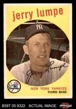 1959 Topps #272 Jerry Lumpe Yankees EX/MT
