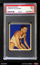 1948 Bowman #62 Herman Schaefer Lakers PSA 7 - NM