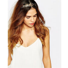 Wedding Olive Grecian Branch Silver Gold Leaves Women Crown Headband Hair Band