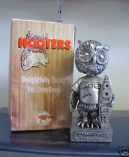 HOOTERS Surfing Owl Mascot Pewter Style PROMOTIONAL 2003 Bobble Bobblehead SGA