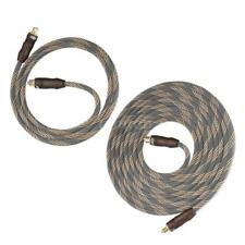 24k Gold Plated Toslink Digital Optical Audio Cable SPDIF Male for TV OD6.0 Y4R2