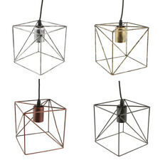 Cube Lamp Shade Chandelier Shade Ceiling Light Cage Shade Pendant Lights Fixture