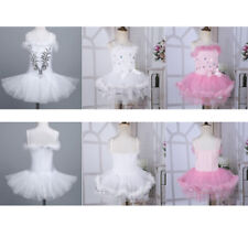 Leotards Girls Tutu Ballet Dancer Dress Kids Fairy Ballerina Dancewear Costume