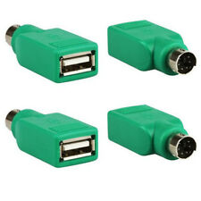 10 x USB Lot Female in to Male Adapter Converter for PS2 Computer Keyboard Mouse