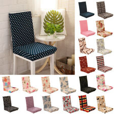 Removable Protector Stretch Spandex Dining Room Chair Covers Slip Cover 27Types