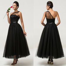 Grace Karin Vintage 1950s Maxi Evening Prom Party Masquerade Ball Gown Dress