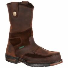 Georgia Boot Athens Waterproof Wellington Work Boot Brown - Mens  - Size