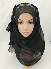 Women Fashion Chiffon Head Long Scarf Muslim Hijab Arab Wrap Shawl Headwear Hats