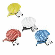 Golf Cap Alloy Magnetic Hat Clip With Golf Ball Marker Hat Decor Training Game