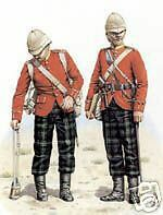 #5 Pte & Capt 2nd Batt The h'land LI Print for Framing