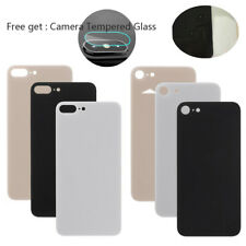 For iPhone 8 8 Plus Back Door Rear Battery Glass Housing Cover Replacement New