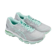 Asics Gel Kayano 23 Womens Gray Synthetic Athletic Lace Up Running Shoes