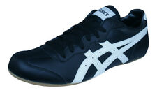 Asics Whizzer Lo Mens Retro Trainers / Classic Casual Shoes - Black