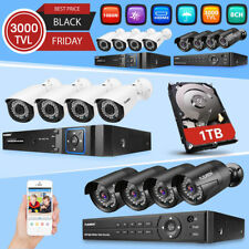 1TB 8CH 1080N AHD DVR Outdoor 3000TVL Camera Home Video CCTV Security System Kit