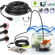 5.5mm 7mm 8mm 720P Android Endoscope Waterproof Borescope Inspection Camera USA