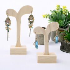 Wooden Jewellery Display Stand Wood Earring Holder Earring Display 2 Sizes