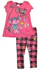Trolls Toddler Girls Pink Character Tunic 2pc Legging Set Size 3T