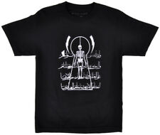 Black Scale Tee Shirt Flying Coffin Short Sleeve BLVCK SCVLE Top White Mens S-L