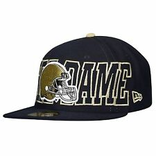 Notre Dame Fighting Irish Football Helmet Hat New Era 59Fifty new with stickers